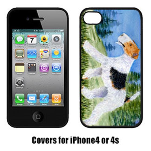 Carolines Treasures SS8599IP4 Fox Terrier Iphone4 Cover
