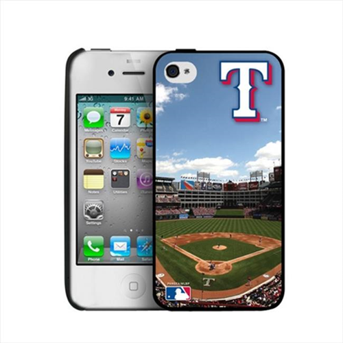 Pangea iPhone 4-4S Hard Cover Case Texas Rangers