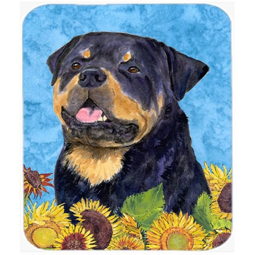 Carolines Treasures SS4158MP Rottweiler Mouse Pad Hot Pad or Trivet