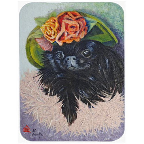 Carolines Treasures MH1038MP Black Pekingese Mouse Pad Hot Pad & Trivet