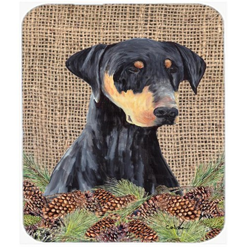 Carolines Treasures SC9038MP Doberman Mouse Pad Hot Pad Or Trivet