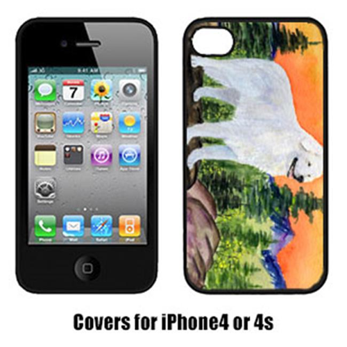 Carolines Treasures SS8184IP4 Kuvasz Cell Phone cover IPhone 4