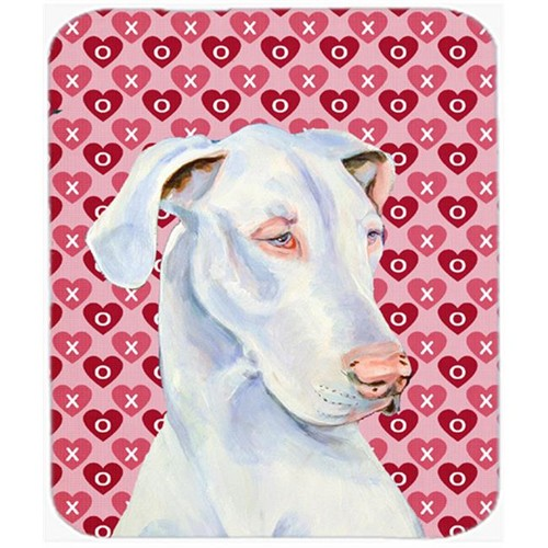 Carolines Treasures LH9131MP Great Dane Hearts Love And Valentines Day Mouse Pad Hot Pad or Trivet