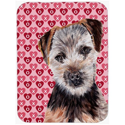Carolines Treasures SC9711MP Norfolk Terrier Puppy Hearts And Love Mouse Pad Hot Pad Or Trivet 7.75 x 9.25 In.