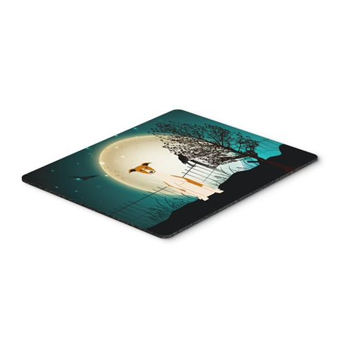 Carolines Treasures BB2289MP Halloween Scary Whippet Mouse Pad Hot Pad or Trivet