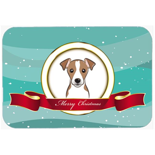 Carolines Treasures BB1570MP Jack Russell Terrier Merry Christmas Mouse Pad Hot Pad & Trivet