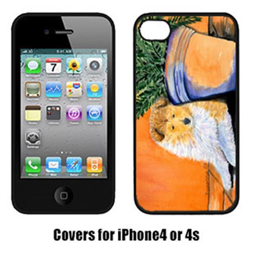 Carolines Treasures SS8667IP4 Sheltie Cell Phone Cover Iphone4