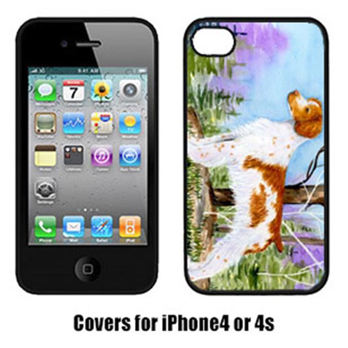 Carolines Treasures SS8663IP4 Brittany Cell Phone Cover Iphone4