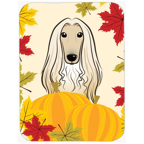 Carolines Treasures BB2050MP Afghan Hound Thanksgiving Mouse Pad Hot Pad or Trivet
