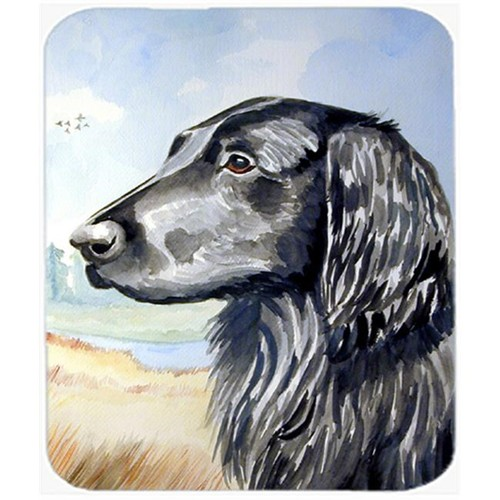 Carolines Treasures 7064MP 9.5 x 8 in. Flat Coated Retriever Mouse Pad Hot Pad or Trivet
