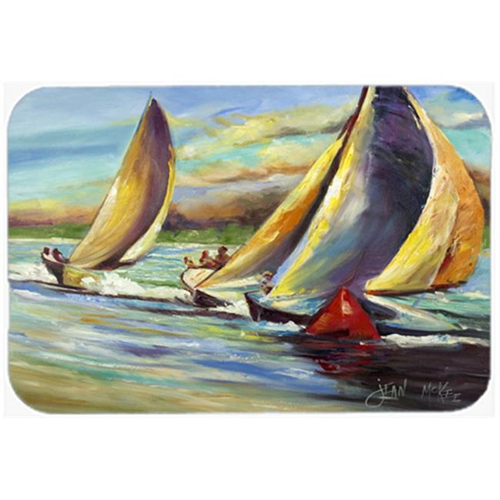 Carolines Treasures JMK1057MP Knost Regatta Pass Christian Sailboats Mouse Pad Hot Pad & Trivet