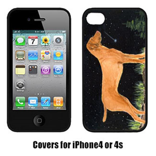 Carolines Treasures SS8478IP4 Starry Night Vizsla Cell Phone Cover Iphone 4