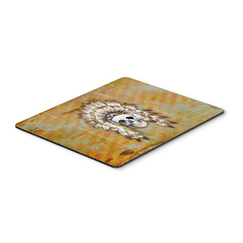 Carolines Treasures BB5121MP Day of the Dead Indian Skull Mouse Pad Hot Pad or Trivet