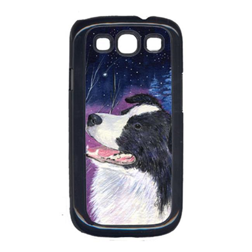 Carolines Treasures SS8369GALAXYSIII Starry Night Border Collie Cell Phone Cover Galaxy S111