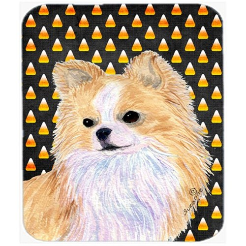 Carolines Treasures SS4266MP Chihuahua Candy Corn Halloween Portrait Mouse Pad Hot Pad Or Trivet