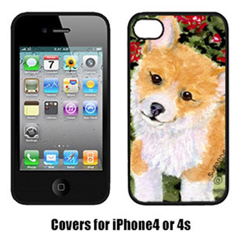 Carolines Treasures SS8823IP4 Corgi Iphone 4 Cover
