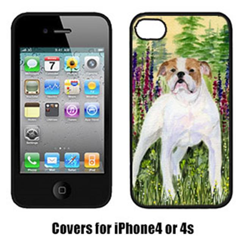 Carolines Treasures SS8156IP4 Bulldog Cell Phone cover IPhone 4