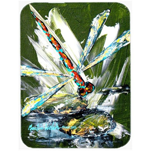 Carolines Treasures MW1182MP Bug Eye Dragonfly Mouse Pad Hot Pad & Trivet