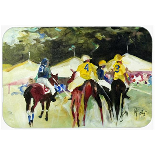 Carolines Treasures JMK1007MP Polo At The Point Mouse Pad Hot Pad & Trivet