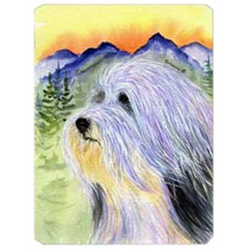 Carolines Treasures SS8244MP Bearded Collie Mouse Pad Hot Pad & Trivet