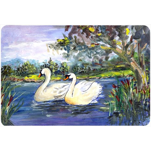 Carolines Treasures KR9039MP Bird - Swan Mouse Pad Hot Pad Or Trivet