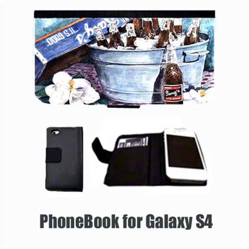 Carolines Treasures 1003-NBGALAXYS4 Barqs and old washtub Cell Phonebook Cell Phone case Cover for GALAXY 4S