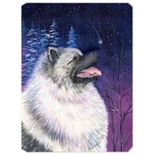 Carolines Treasures SS8350MP Starry Night Keeshond Mouse Pad