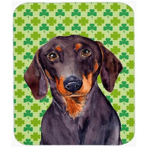 Carolines Treasures LH9178MP Dachshund St. Patricks Day Shamrock Portrait Mouse Pad Hot Pad or Trivet
