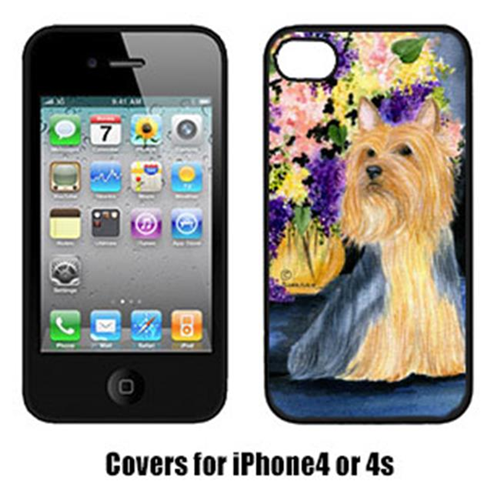 Carolines Treasures SS8293IP4 Silky Terrier Cell Phone cover IPhone 4