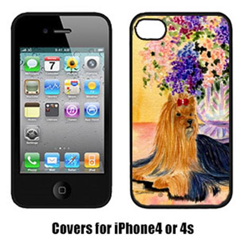 Carolines Treasures SS8304IP4 Yorkie Cell Phone cover IPhone 4