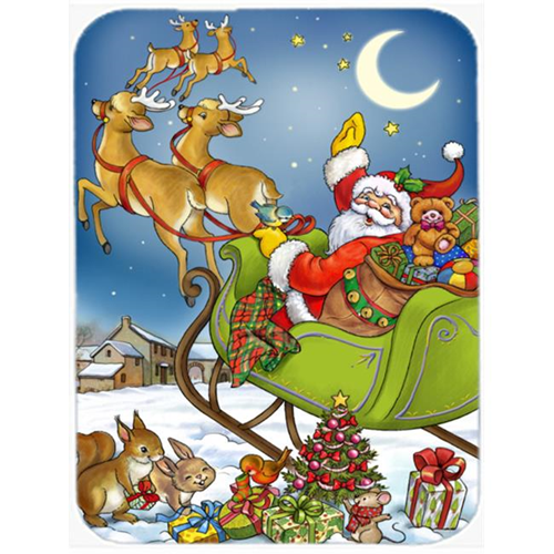 Carolines Treasures APH4570MP Christmas Santa Taking Off Mouse Pad Hot Pad or Trivet