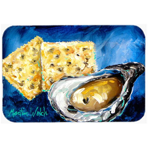 Carolines Treasures MW1089MP Oysters Two Crackers Mouse Pad Hot Pad or Trivet