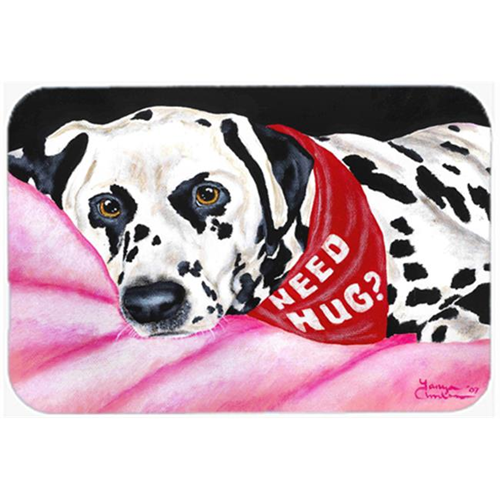 Carolines Treasures AMB1148MP Need a Hug Dalmatian Mouse Pad Hot Pad or Trivet