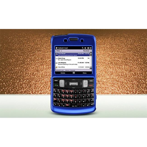 DreamWireless CRSAMI350BL Samsung Ace 2 Intrepid & I350 Crystal Rubber Case Blue