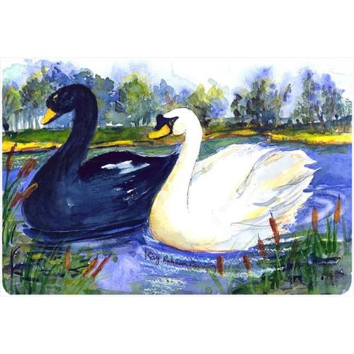 Carolines Treasures KR9042MP Bird - Swan Mouse Pad Hot Pad Or Trivet