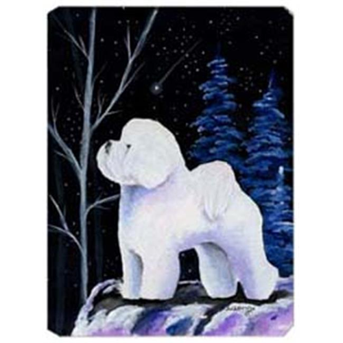 Carolines Treasures SS8397MP Starry Night Bichon Frise Mouse Pad