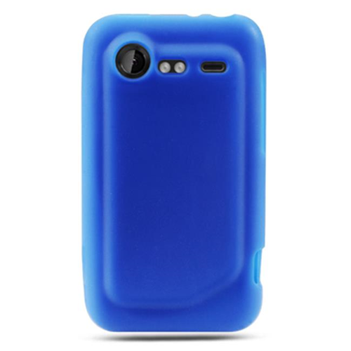 DreamWireless SCHTC6350BL-PR HTC Incredible 2 & 6350 Premium Skin Case - Blue