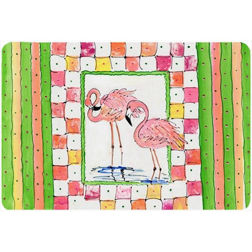 Carolines Treasures 8077MP Bird - Flamingo Mouse Pad Hot Pad Or Trivet