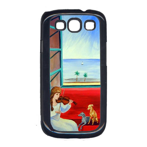 Carolines Treasures 7126GALAXYSIII Italian Greyhounds With Mom And Violin Galaxy S111 Cell Phone Cover