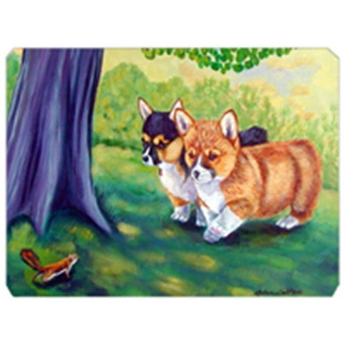 Carolines Treasures 7293MP 8 x 9.5 in. Corgi Mouse Pad Hot Pad or Trivet