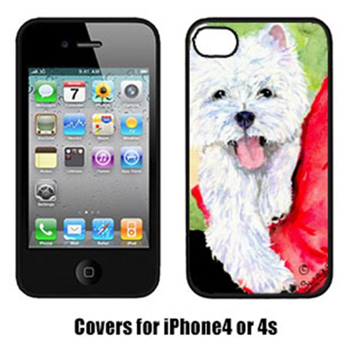 Carolines Treasures SS8784IP4 Westie Iphone4 Cover