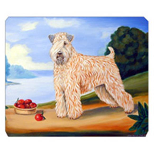 Carolines Treasures 7509MP 8 x 9.5 in. Wheaten Terrier Soft Coated Mouse Pad Hot Pad or Trivet