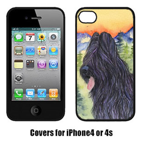 Carolines Treasures SS8319IP4 Briard Cell Phone cover IPhone 4