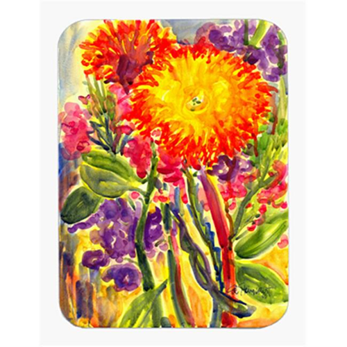 Carolines Treasures 6077MP 9.5 x 8 in. Flower - Aster Mouse Pad Hot Pad Or Trivet