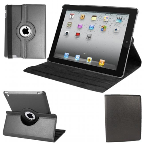 Natico 60-IM360-BK IPAD MINI 360 CASE FAUX BLACK