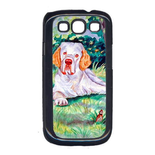 Carolines Treasures 7113GALAXYSIII Clumber Spaniel Cell Phone Cover For Galaxy S111