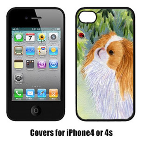 Carolines Treasures SS8260IP4 Japanese Chin Cell Phone cover IPhone 4