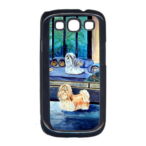 Carolines Treasures 7082GALAXYSIII Shih Tzu Tan And Silver Cell Phone Cover Galaxy S111