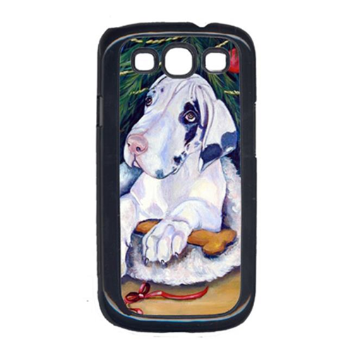Carolines Treasures 7172GALAXYSIII Christmas Tree With Great Dane Galaxy S111 Cell Phone Cover