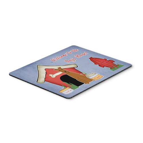 Carolines Treasures BB2816MP Dog House Collection Irish Terrier Mouse Pad Hot Pad or Trivet